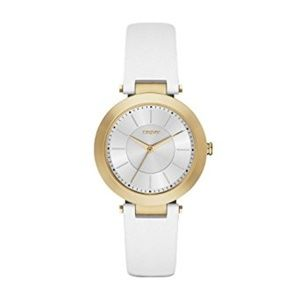 DKNY Women's Stanhope White Watch NY2295